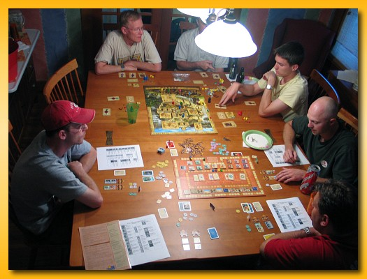 Gaming Table PrOn Memoirs Of A Board Gamer - Board game dining room table