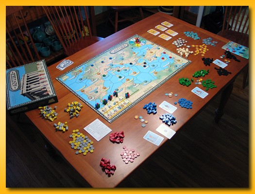 Gaming Table PrOn - Memoirs of a Board Gamer